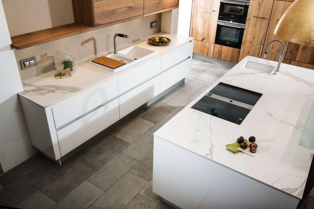 arbeitsplatten aus keramik k chen journal. Black Bedroom Furniture Sets. Home Design Ideas
