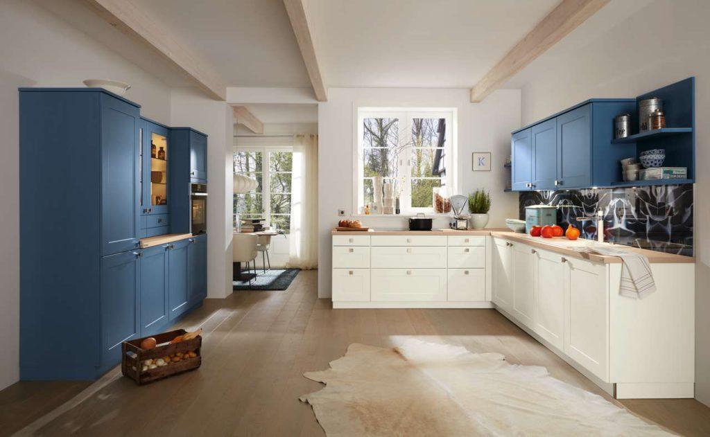 Eine Variante der modernen Landhausküche ist das Modell MR4450. Foto: Mustering
