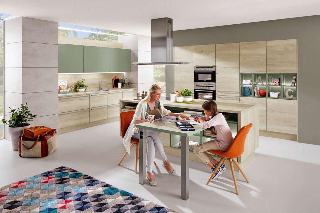 Die Küche ist mehr denn je Treffpunkt. Foto: DGM/Nobilia
