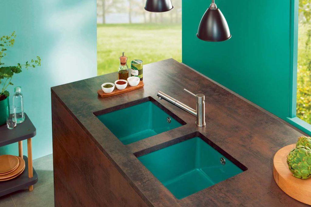 sp lbecken aus keramik k chen journal. Black Bedroom Furniture Sets. Home Design Ideas
