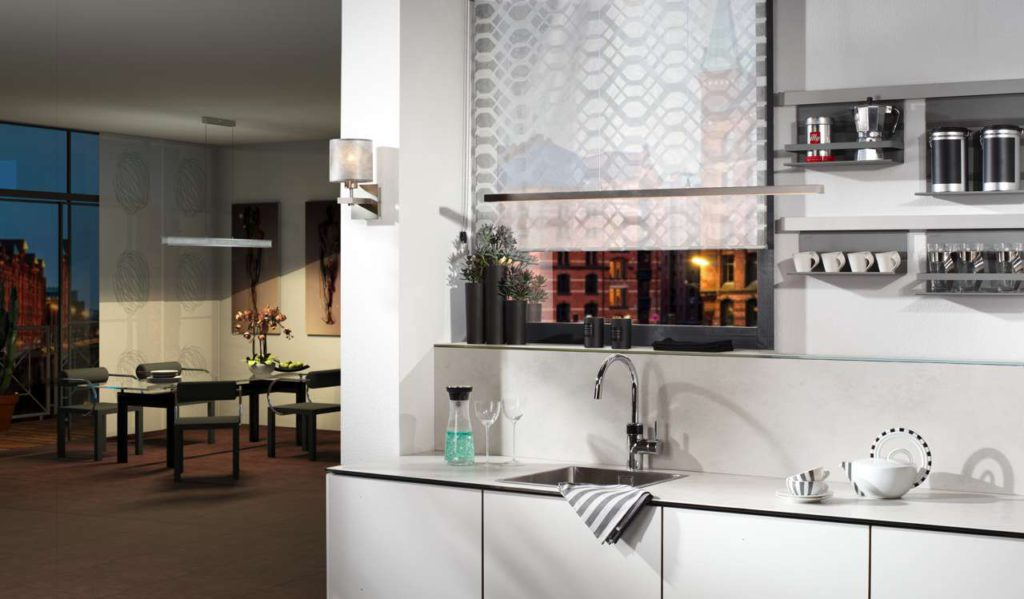 Mit Porzellankeramik von Sprinz entstehen ganz besondere Küchen: edel, individuell und mit einem umweltfreundlichen, recycelbaren Naturprodukt. Foto: Sprinz