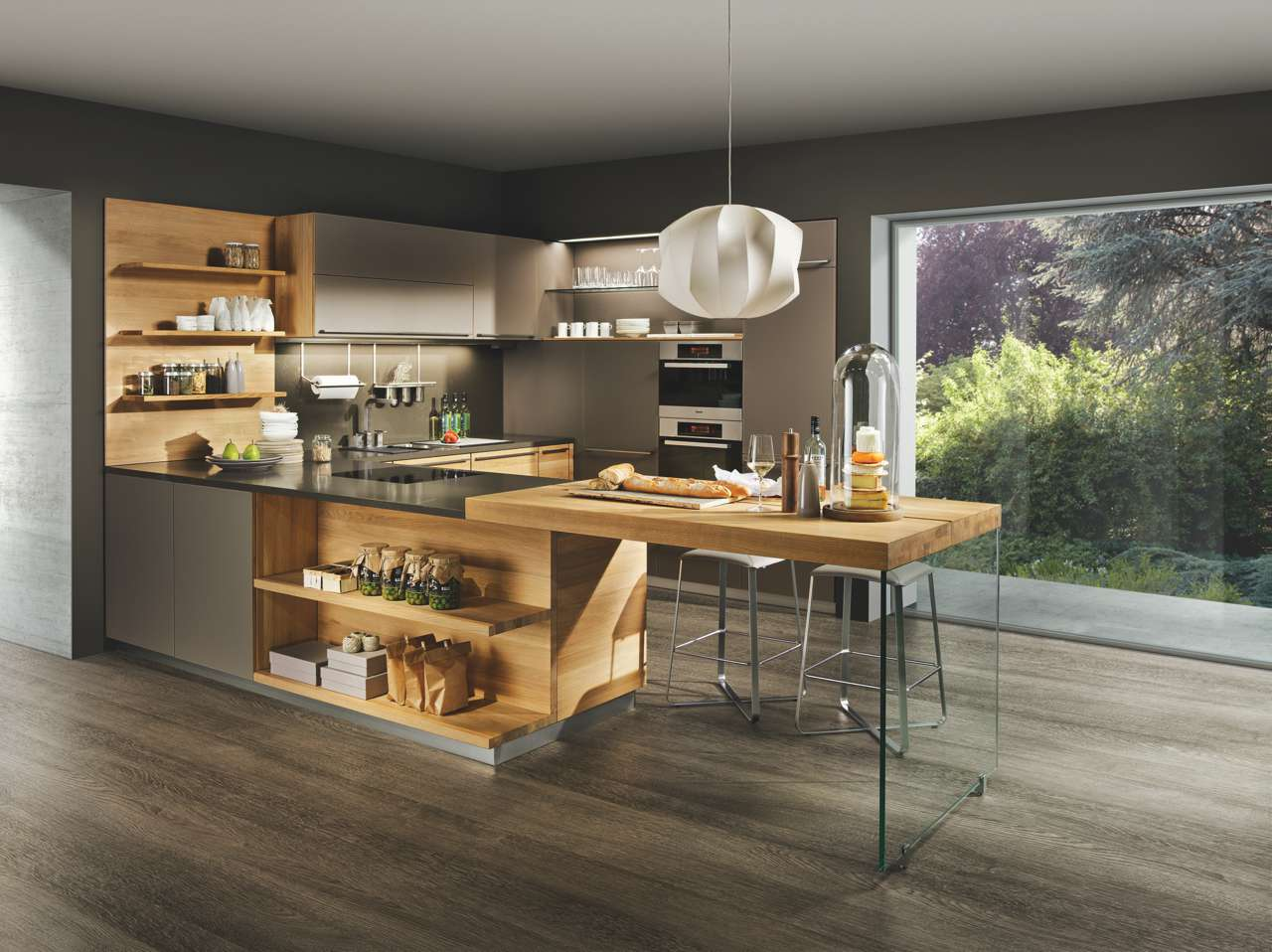 Küchen-Zutat für Genießer: Naturholz | Küchen Journal