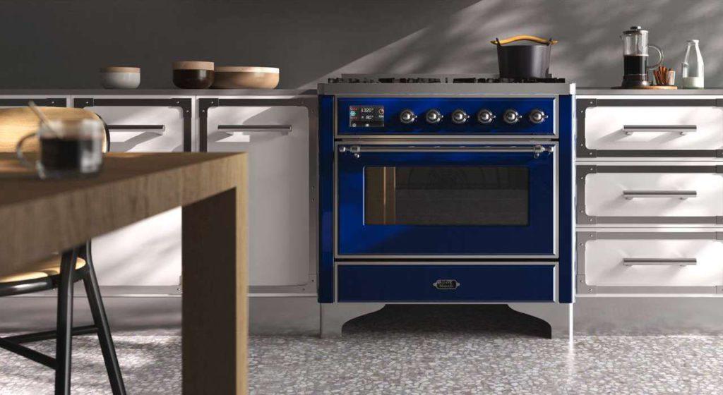 Ein ILVE Majestic Range Cooker macht sich in jeder Küche gut. Foto: ILVE