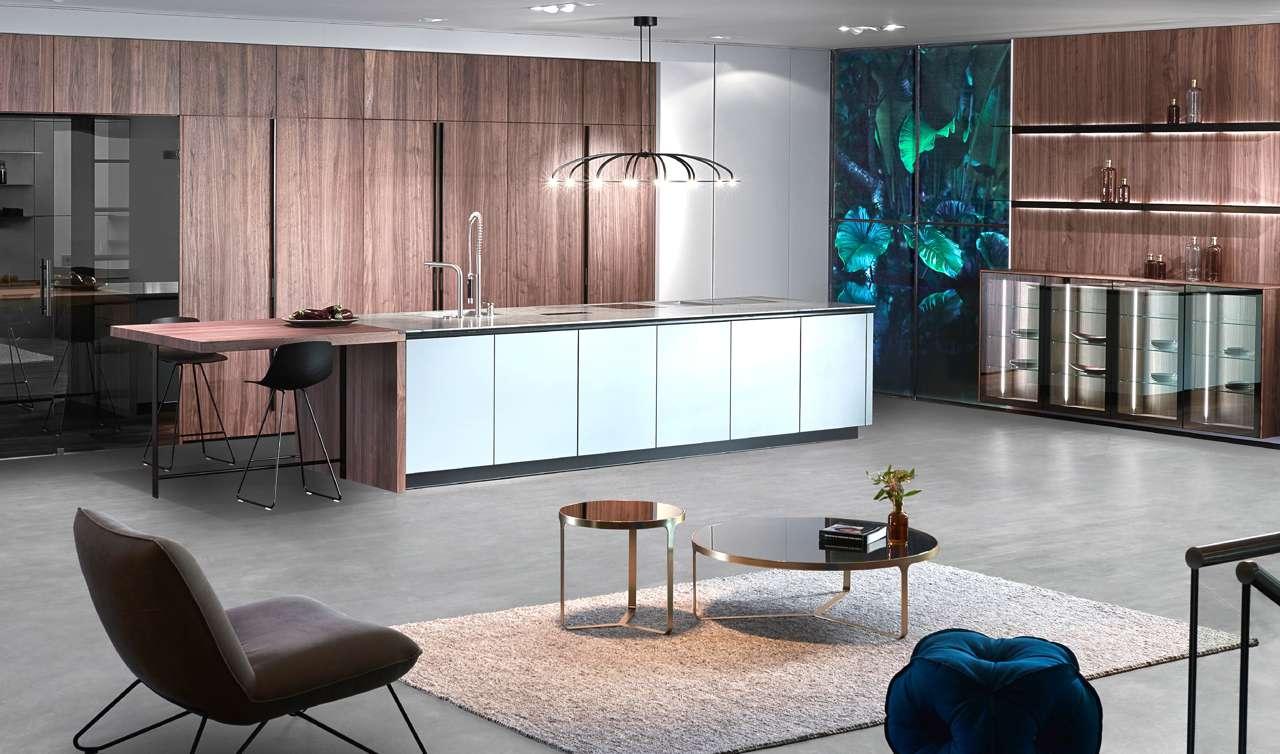Küche elegant inszeniert: LED Beleuchtung unter der