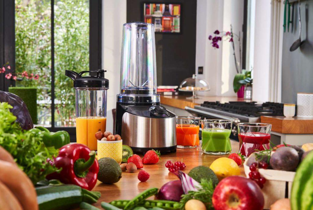 Gesündere Smoothies: NutrivacuumTM-Technologie minimiert Oxidation von Obst und Gemüse. Foto: Krups