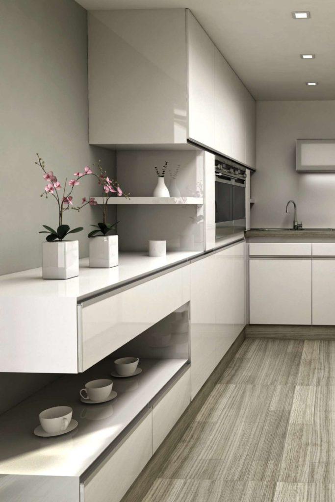 Mit neuen Schrankfronten bekommt die alte Küche schnell einen anderen Look. Foto: djd/www.beptum.de