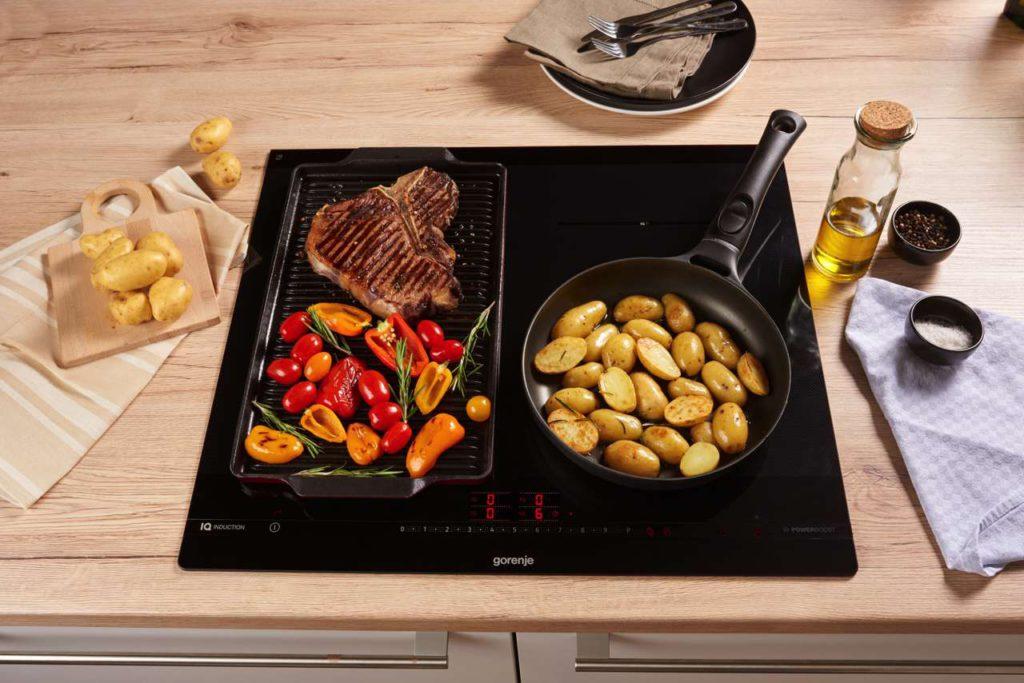 Das hochwertige Design besticht durch Technologie und Materialien in höchster Qualität, die eine lange Lebensdauer haben und zuverlässig funktionieren. Für die Freude am unkomplizierten Kochen — Tag für Tag. Foto: Gorenje