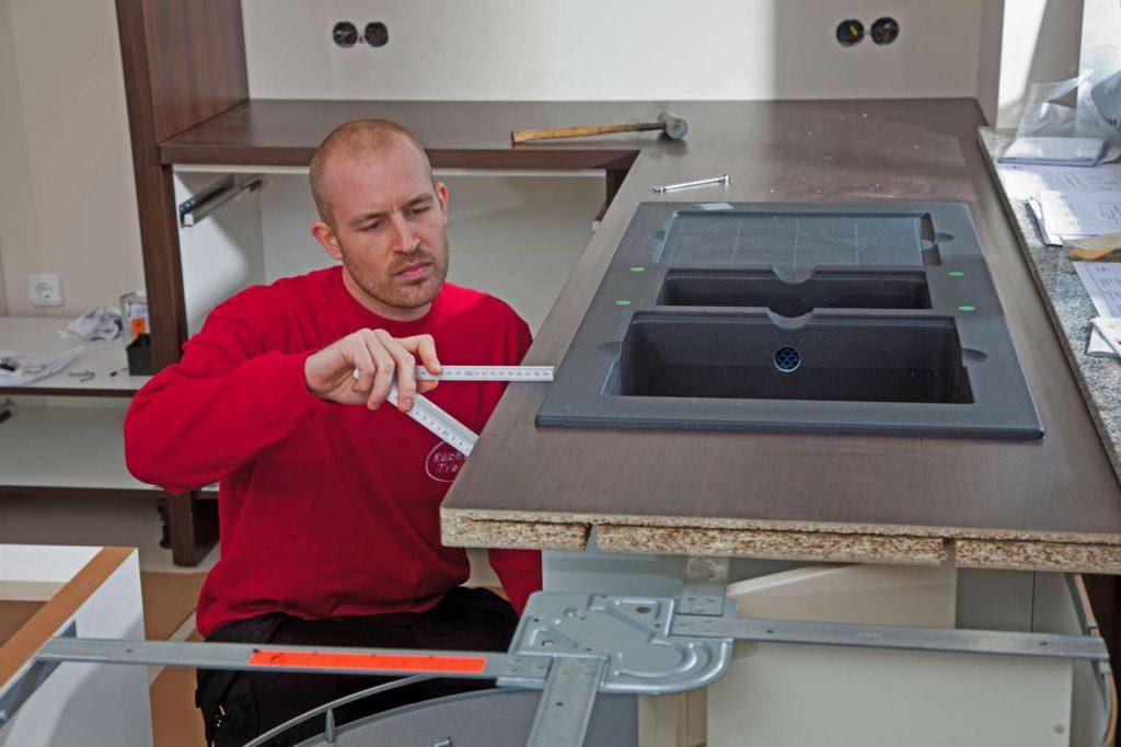 Die Gestaltung der neuen Küche sollten Bauherren frühzeitig planen. Foto: djd/Küchen Treff GmbH & Co. KG
