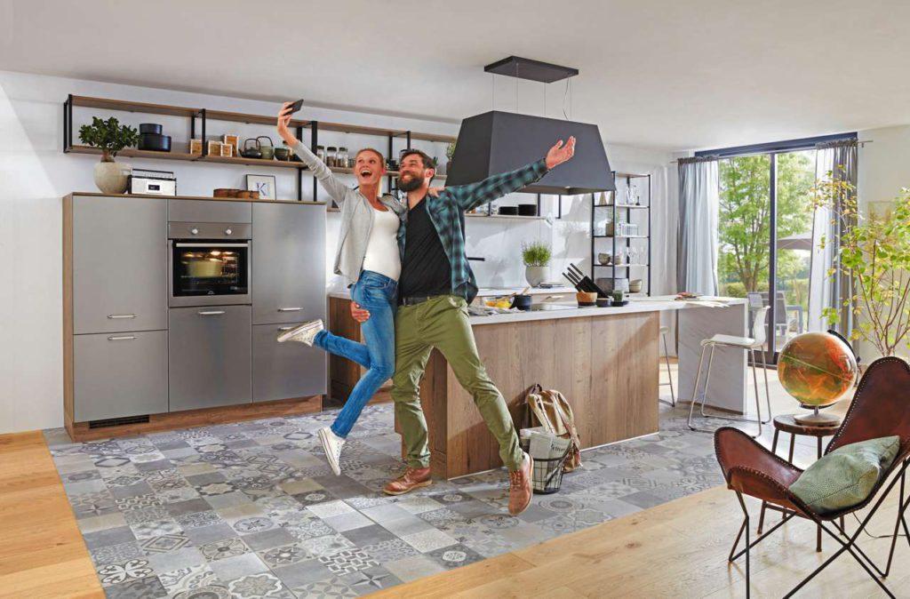 Wichtig bei der Küchenplanung ist ausreichender Stauraum. Foto: djd/Küchen Treff GmbH & Co. KG