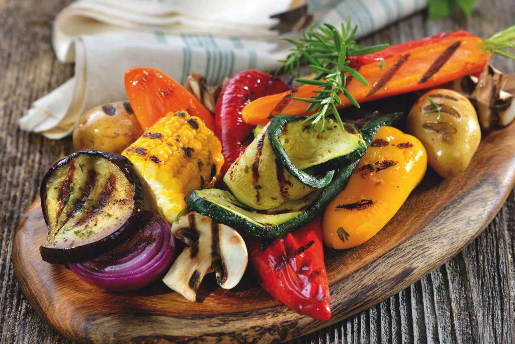 Leckeres Grill-Gemüse ist jetzt das ganz Jahr über möglich. Foto: Tefal