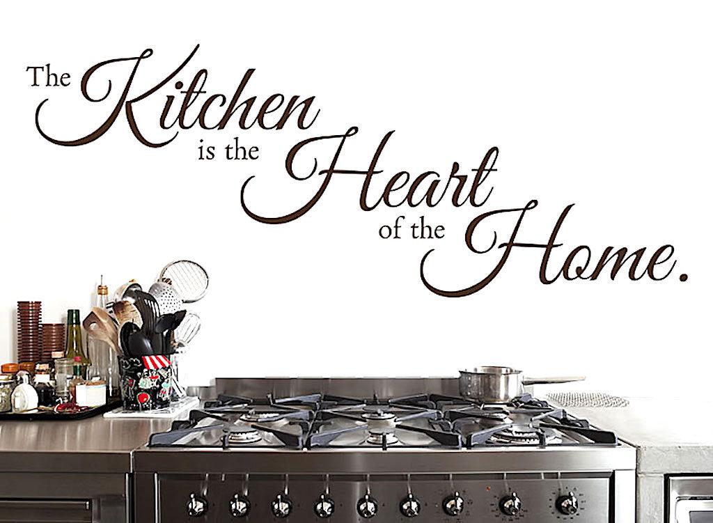 The Kitchen ist he Heart of the Home. Foto: klebeheld.de
