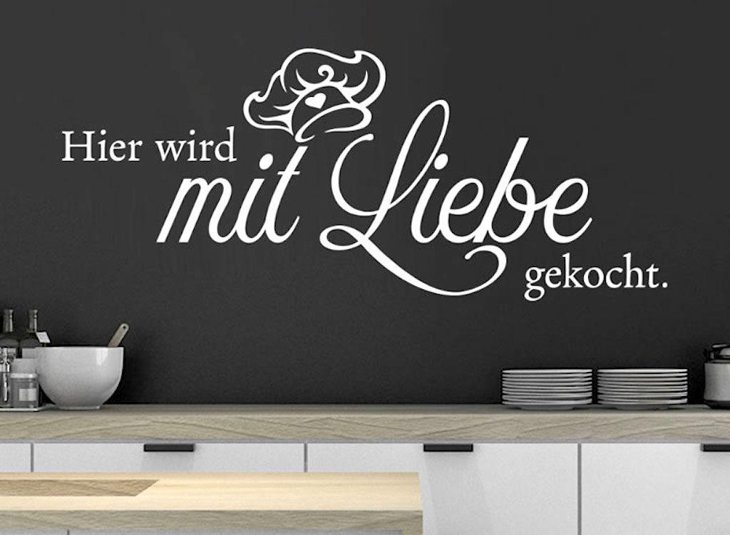 Hier wird mit Liebe gekocht. Foto: klebeheld.de
