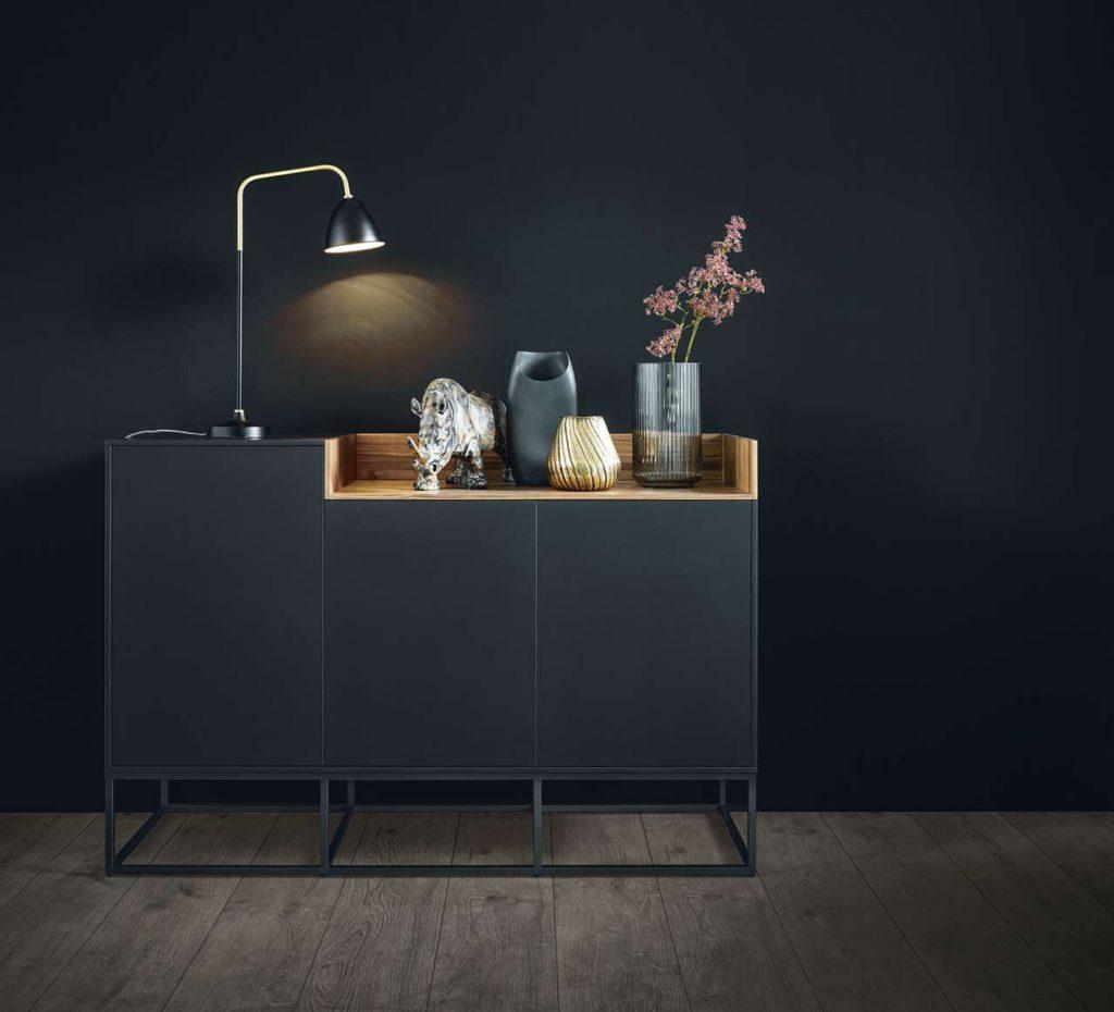 Wohnlich-elegant und so praktisch: die next125 Sideboard-Serie. Foto: next125