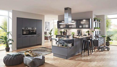 graue Küche, Wohnküche