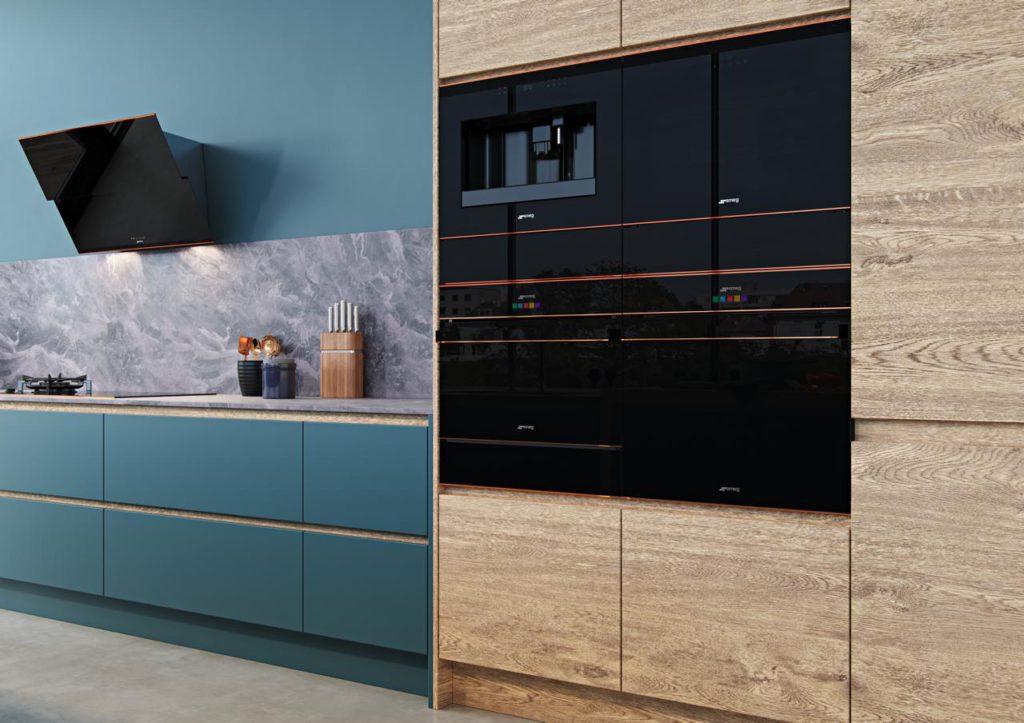 Aus dem Gastronomiebereich bringt Smeg zwei weitere Geräte in die private Küche. Foto: Smeg