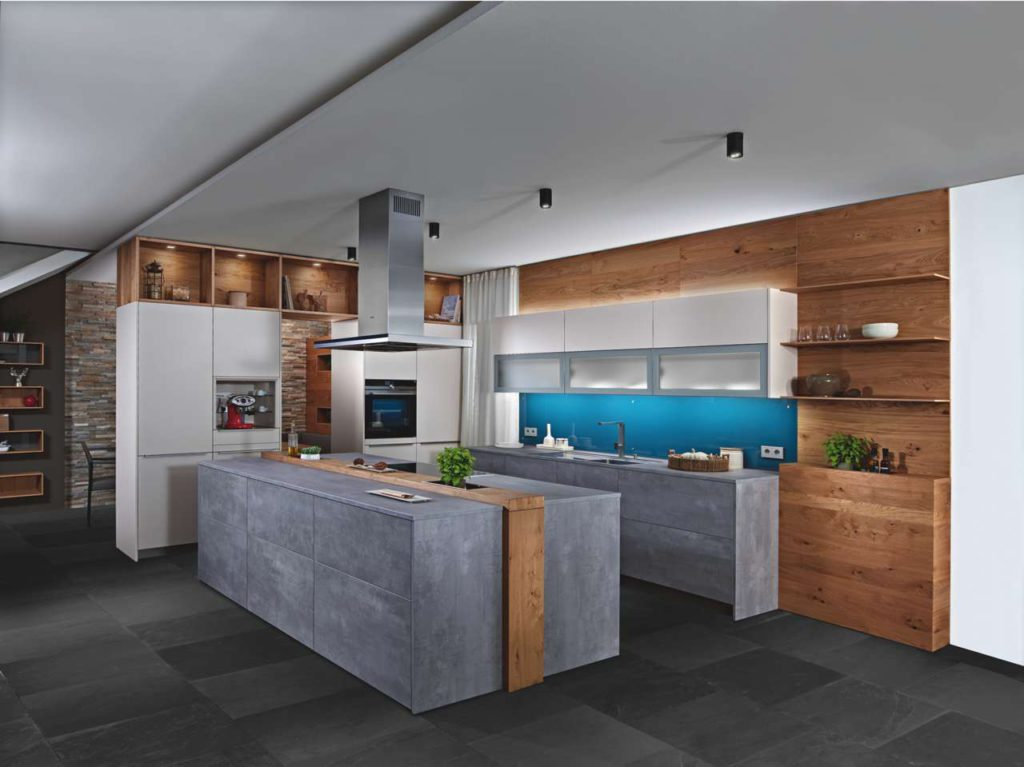 Küche Nuova in Sand/Beton. Foto: ewe