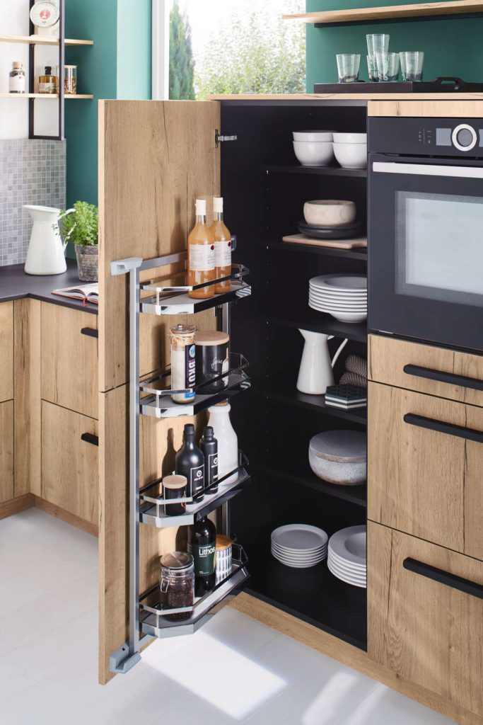 Stauraum Küche, kleine Küche