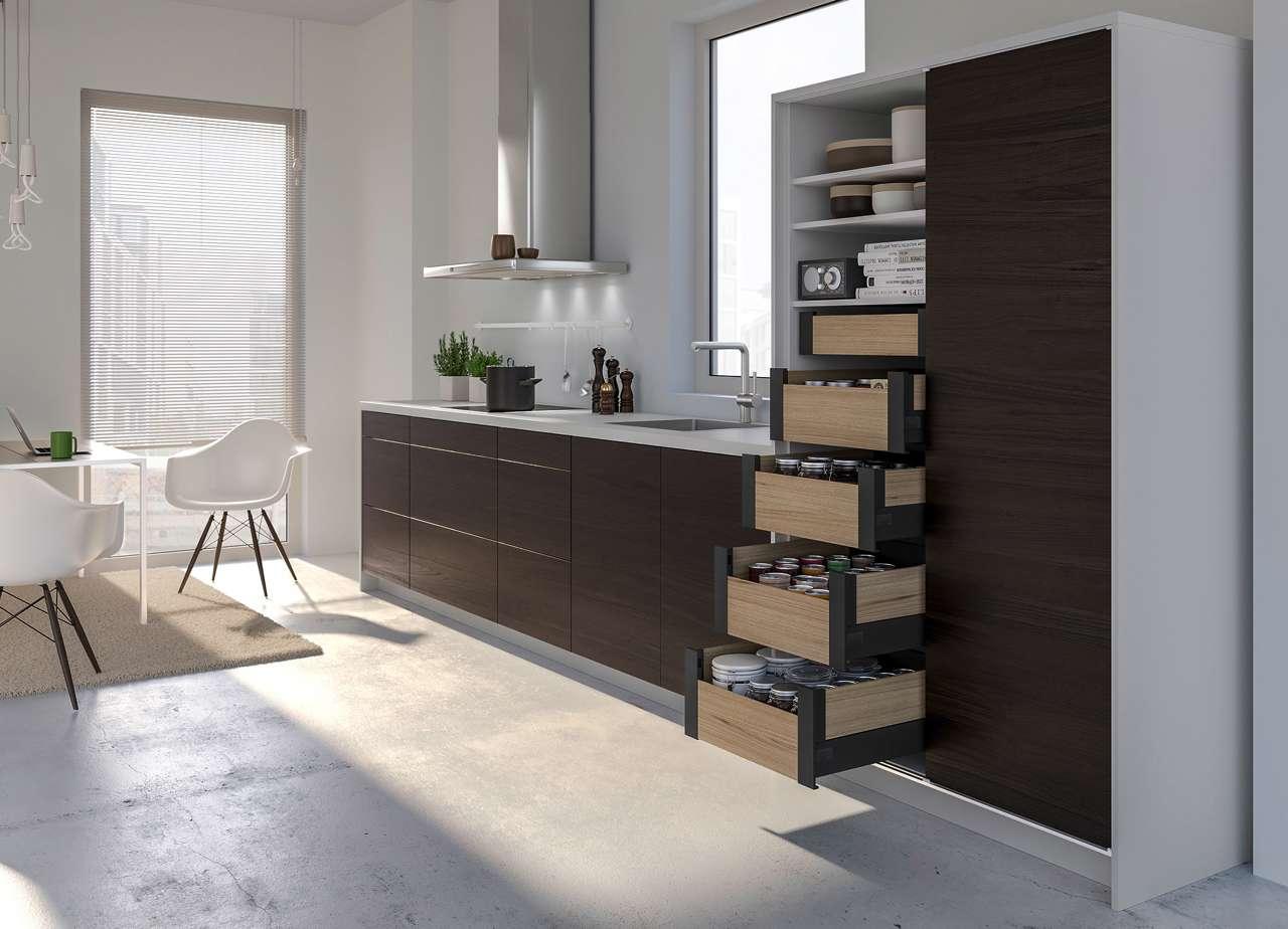 Attraktive Stauraum-Ideen für kleine Küchen | Küchen Journal