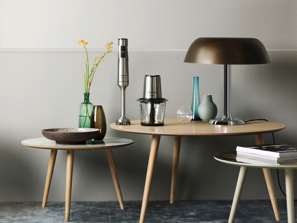 Fast zu schön, um nur in der Küche zu stehen: Die Delisia-Serie von Grundig. Foto: © Grundig Intermedia