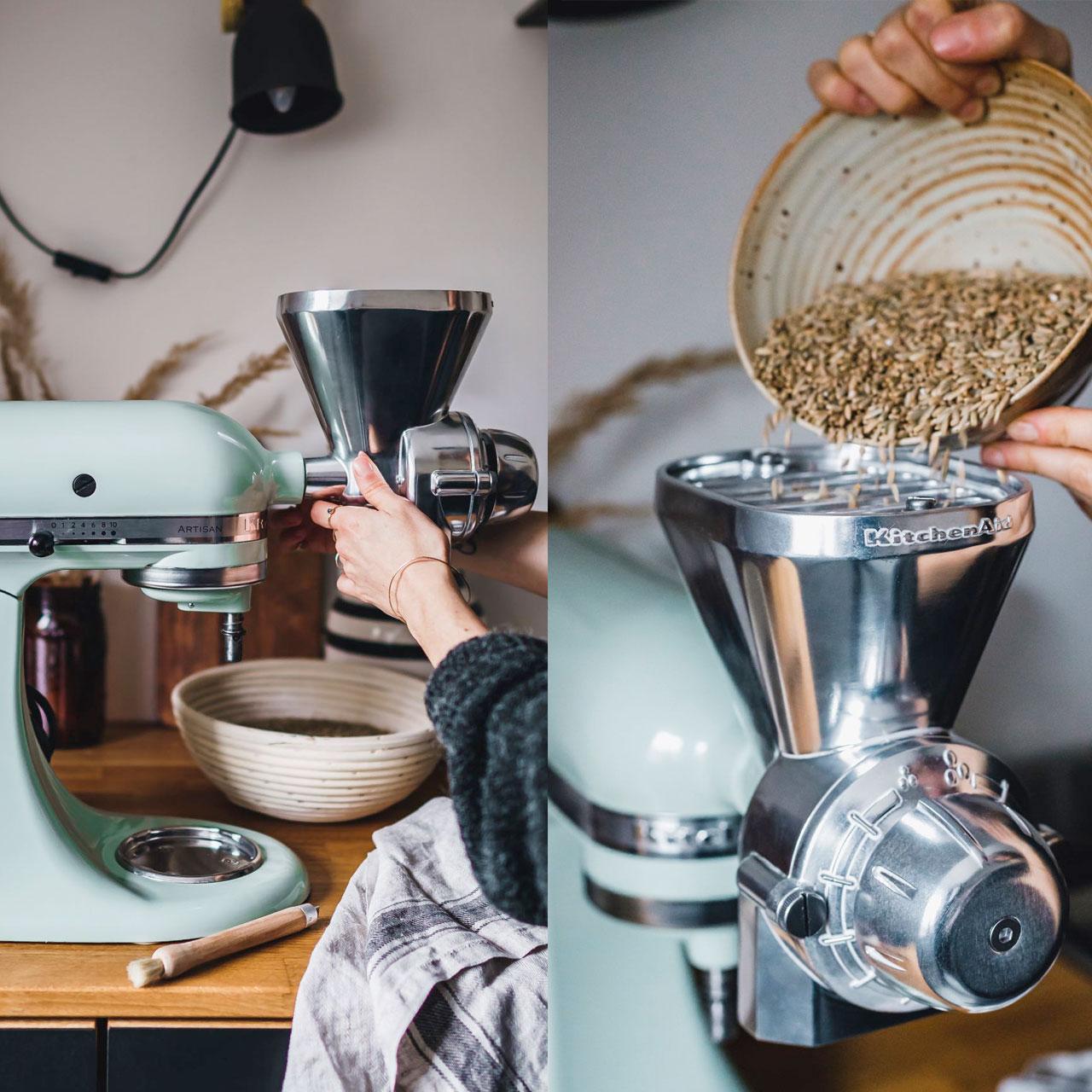 Küchenmaschine Mit Mahlwerk 2021