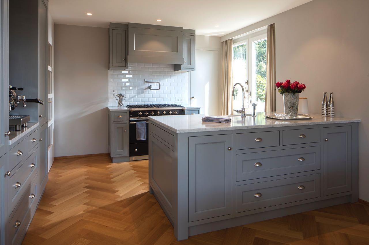 Die wunderschöne Küche im Shaker-Stil ist von Baur Wohnfaszination