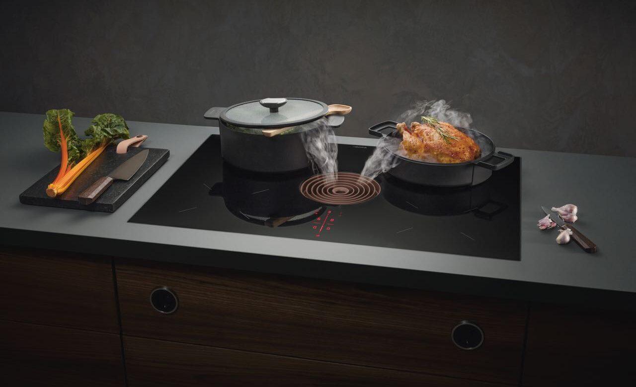 Ein Markenzeichen jeder Küche: BORA Pure.